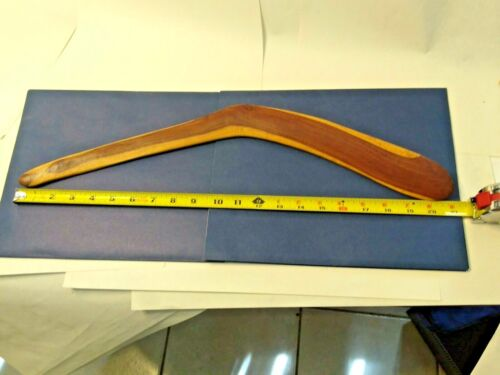 Vintage Handmade Boomerang