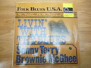 SONNY TERRY & BROWNIE McGHEE Livin' with the blues Fontana 688006 ZL