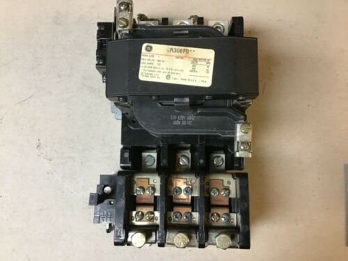 General Electric GE CR306F0** Size 4 Motor Starter with 120 Volt Coil