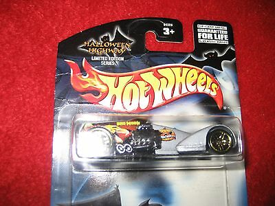 Hot wheels Halloween highway high way matell set of four different cars! (Toy Room Halloween)
