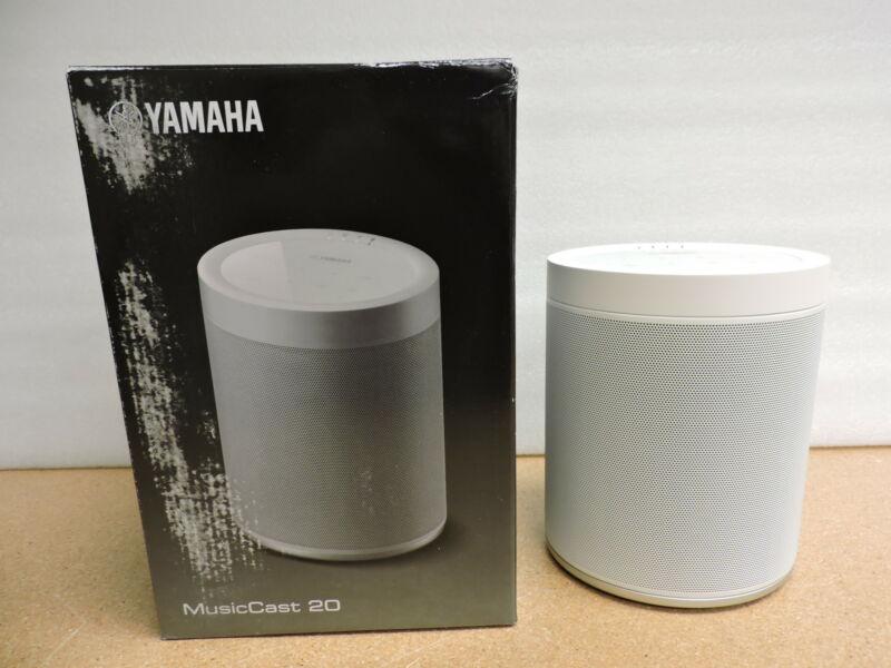 Yamaha WX-021WH MusicCast 20 Wireless Speaker (White)