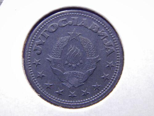 SUPERB Yugoslavia 1945 50 Para UNC Zinc Coin KM# 25 WWII Stunning Original Coin