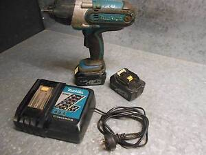 MAKITA 18v 1/2 inch LARGE Impact gun BTW450 plus accessories KIT Brookwater Ipswich City Preview