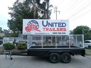 SALES 12x6 Tandem Box Trailer with High cage n NEW LT Wheels Penrith Penrith Area Preview