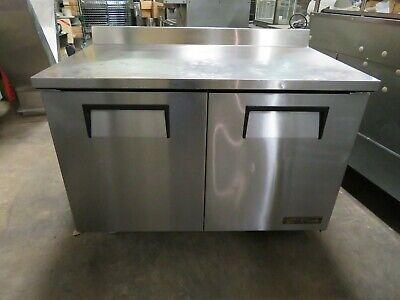 True Twt-48 2-door Work Top Refrigerator 48 Wide 2016