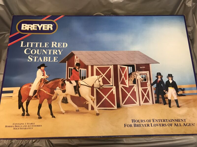 Breyer Little Red Country Stable #2301 - *NEW in Opened Box*