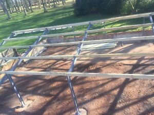 60 x 30 x 12ft agricultural, farm, industrial, steel, building portal frame