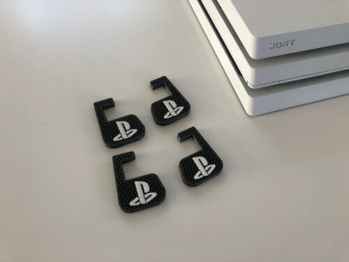 Sony Playstation 4 PRO - stand legs PS4 mount lift ventilation cooling mod new