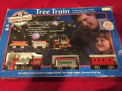 Toys-R-Us Christmas North Pole Tree Train Set New Never Displayed Or Used