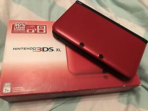 NINTENDO 3DS XL ROUGE !!