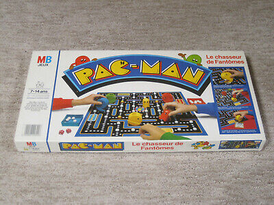 VINTAGE PAC-MAN 1982 Milton Bradley Board GAME - French Version - Very RARE!