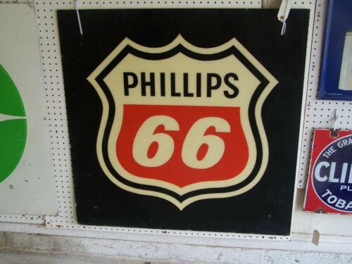 Large Fiber Type Phillips 66 Sign--A-409