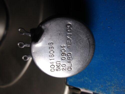 solectria/azure dynamic 5k (throttle pot) clarostat c0416066