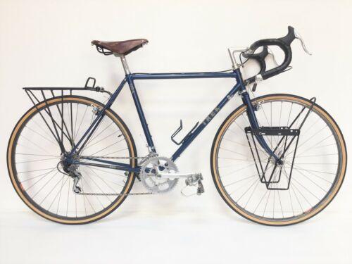 "1985 Trek 620 Touring Bike 21"" 52cm c-c Made in USA Phil Wood Nitto Huret Brooks"