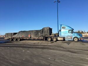 2004 Volvo and trailer
