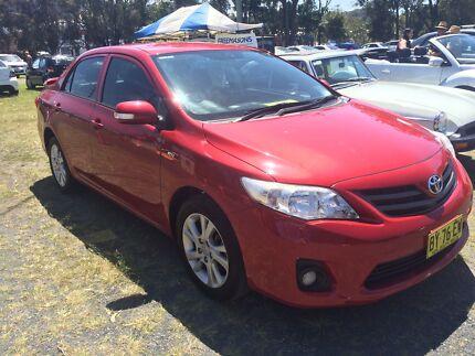 2011 Toyota Corolla Sedan Sawtell Coffs Harbour City Preview