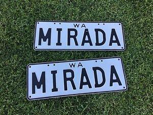 Coachman Mirada motorhome number plates only Bunbury Bunbury Area Preview