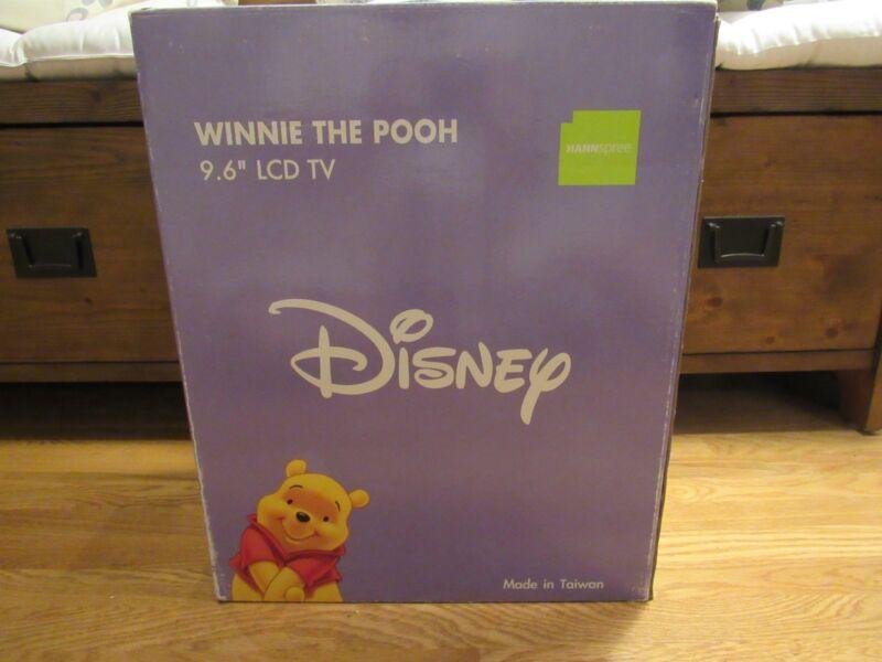 NOS Super Rare 2005 Hannspree Winnie the Pooh Picnic 10 LCD TV New Disney Sealed