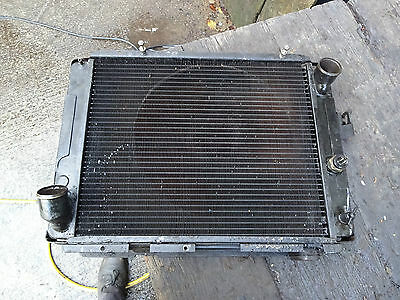 Citroen DS23 Radiator       DS23 Coolant Radiator     DS23 Water Radiator