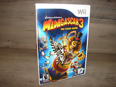 Madagascar 3 Nintendo Wii Video Game   ***DISC IS MINT*** ()