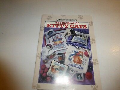 "Good Natured Girls, ""The Big Book of Kitty Cats"" Cross Stitch Book, 1997, SC 300"