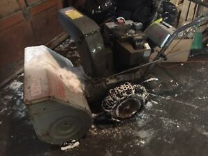 "10 hp. 28"" craftsman snowblower"