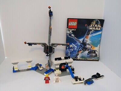 Lego Star Wars B-Wing at Rebel Control Center 7180 About 70% Complete w/Manual