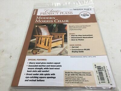Wood Working Shop Plans Drawings For Modern Morris Chair