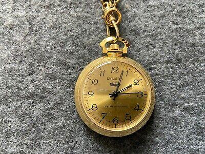 Kronotron Mechanical Wind Up Vintage Pocket Watch