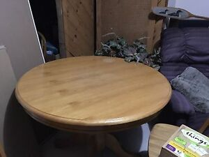 Wooden table with chairs $50