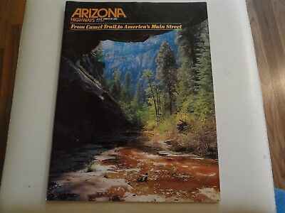 Arizona Highways, July 1984, From Camel Trail to America´s Main Street