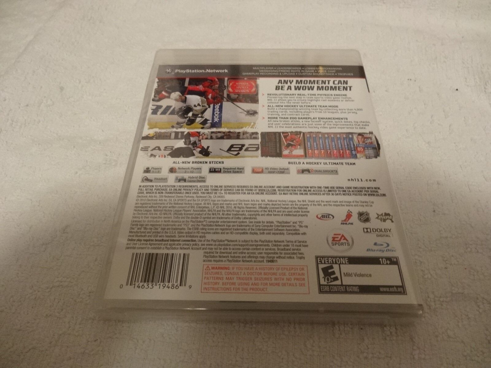 Nhl 11 Video Game Playstation 3 Ps3 New Sealed 1097 Picclick Network 200 Of See More