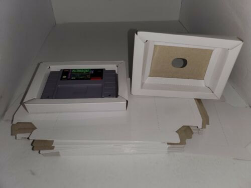 5 NEW Replacement Cardboard Tray  insert for Super Nintendo SNES ( No game) R29