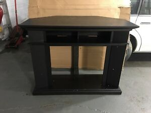 Fireplace tv media unit.