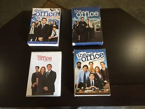 The office series dvd's