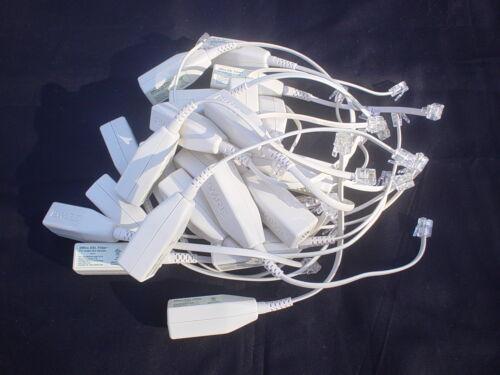 (25) GENUINE 2WIRE DSL HIGH SPEED INTERNET FILTER FOR 1-LINE PHONE MODEL LFT4-1