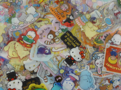 SALE Grab Bag 40 Sanrio Hello Kitty My Melody flake sack sticker cute stationery