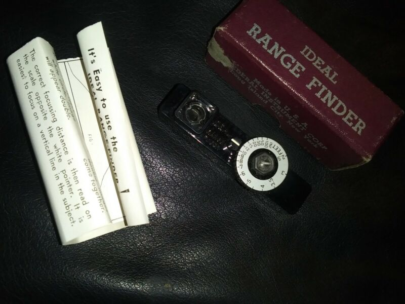 Vintage Ideal Range Finder by Federal Instrument Corp w/box & instructions