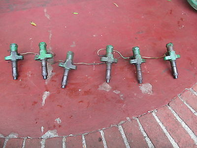 Oliver 77 Diesel Tractor 6 Cylinder Fuel Injection Injectors Lines Free Ship