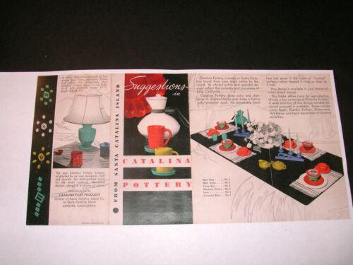 Catalina Pottery Brochure - Copy