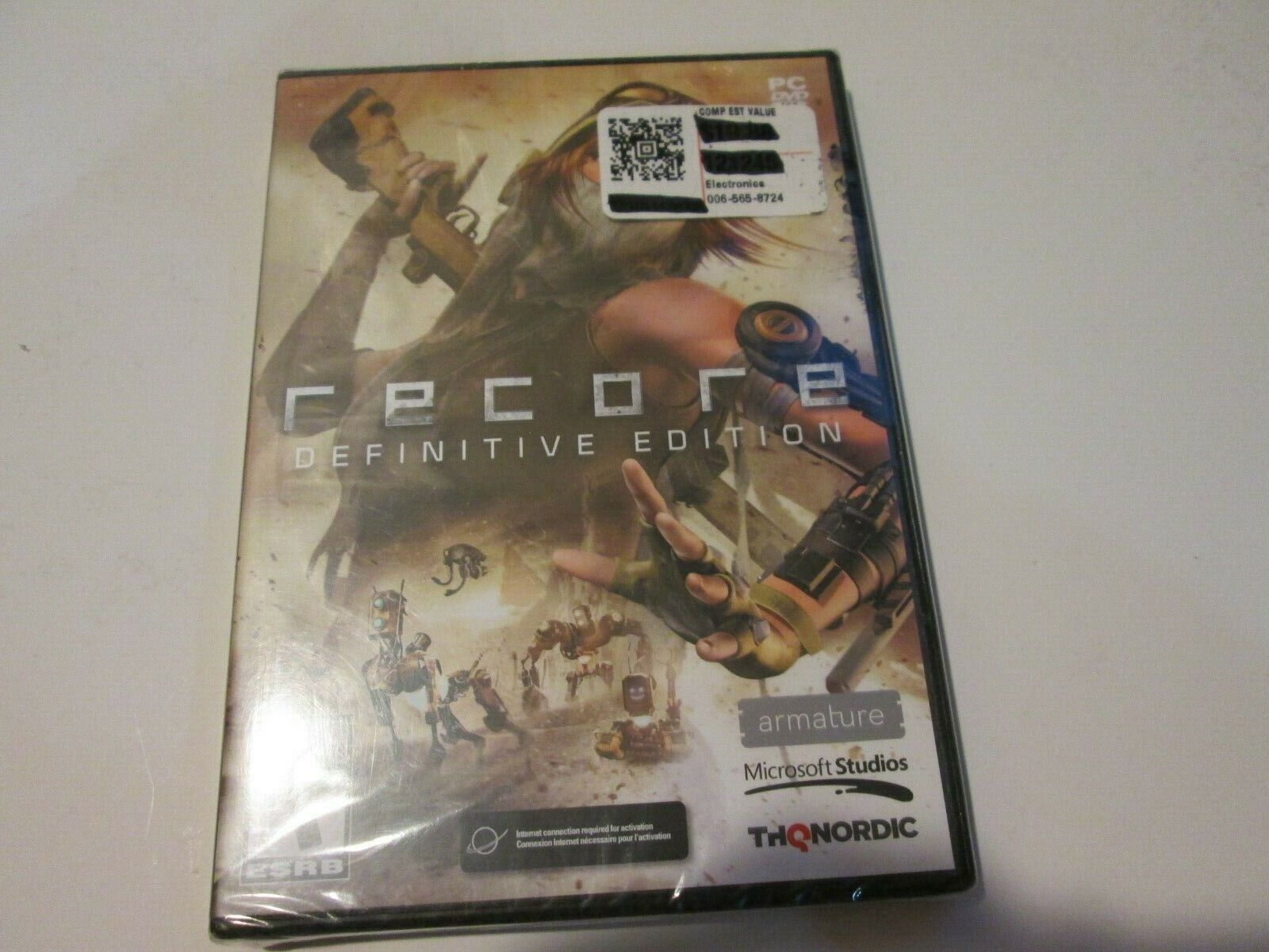 Computer Games - Recore Definitive Edition PC DVD-ROM Computer Game BRAND NEW SEALED