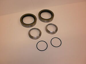 2-Trailer-Axle-Spindle-Seal-Repair-Sleeve-Kit-Upgrade-3500-Axel-1-37-Spindo