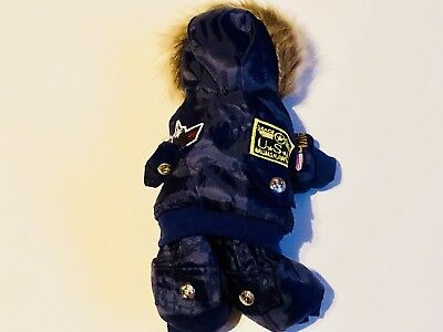 "TOP GUN TOM CRUSE Bear Doll Outfits Fit ""Stuffed Bears Animals Outfit."