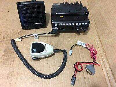 Motorola Spectra Astro P25 Digital 800 Mobile Radio W Programming Police Fire