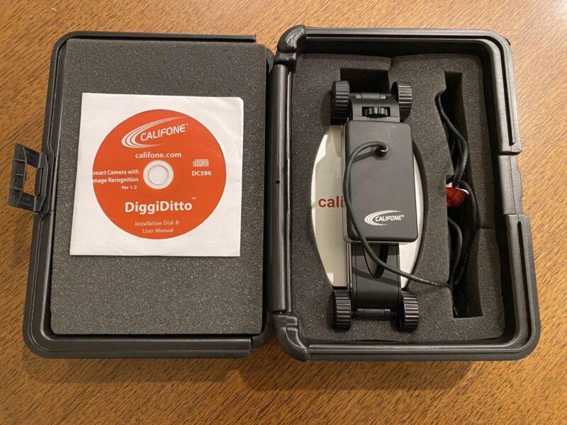 Califone DiggiDitto Document Smart Camera DC596 With Case