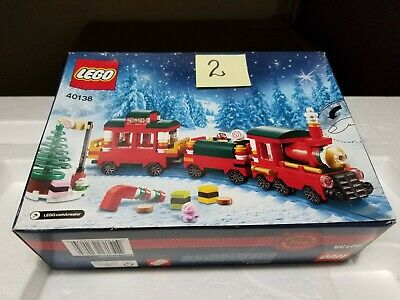 NEW Lego 40138   Christmas Train Set   Limited Edition Holiday   Released 2015