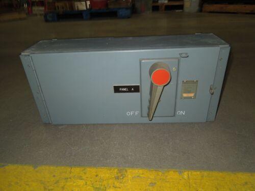 FPE QMQB2032B 200A 3p 240V Single Fusible Switch Unit Used