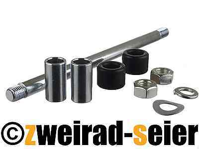 SET Schwingenlagerung Simson S51 (Innenrohr-Gummibuchse-Schwingenlagerbolzen)