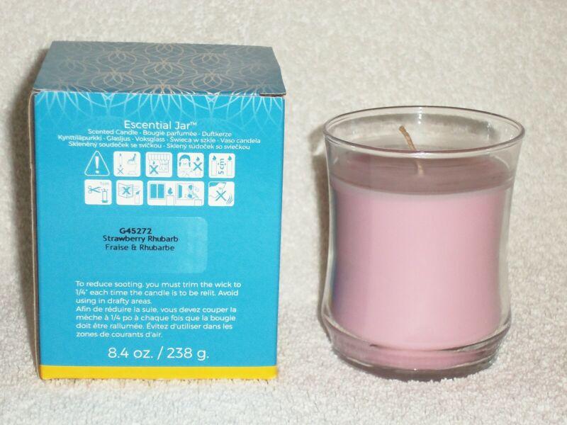 Partylite Strawberry Rhubarb Escential Jar -- RETIRED