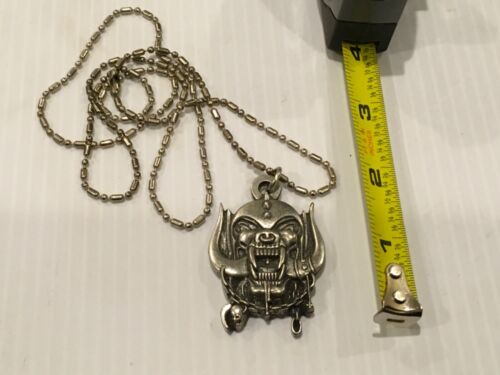 Motorhead 2012 concert pendent.very collectible.
